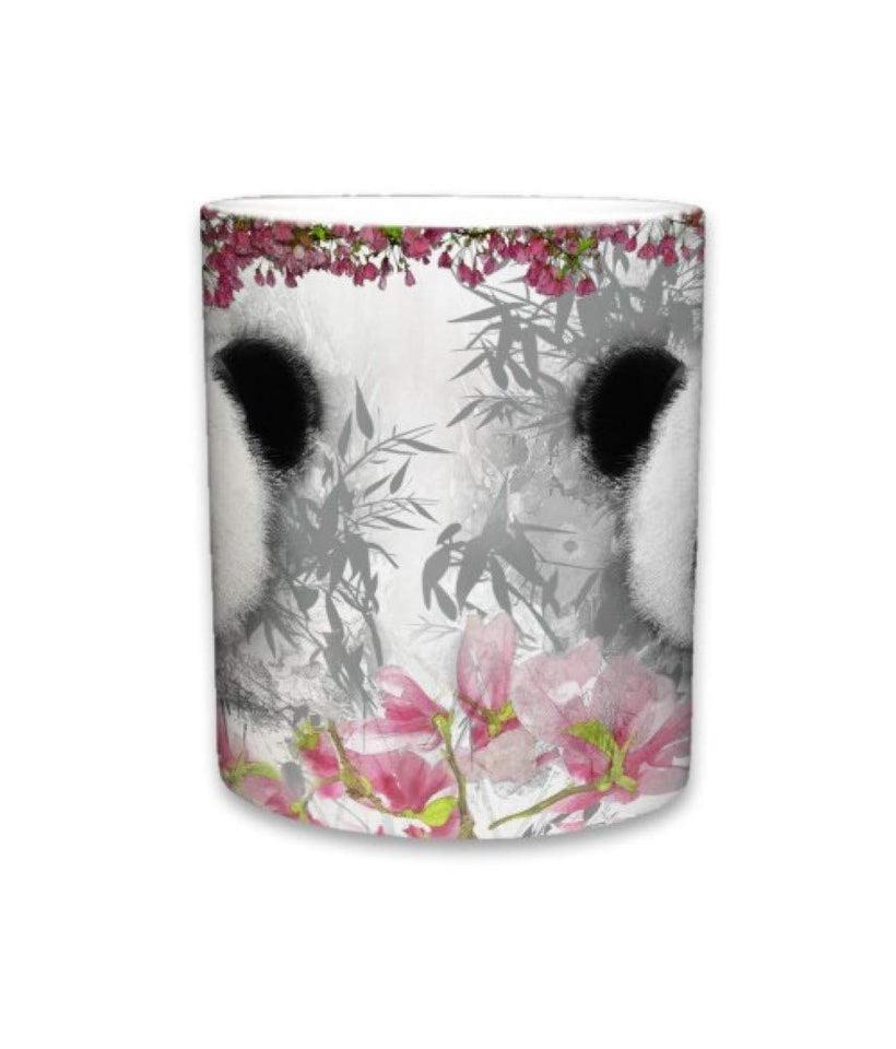 Panda Bear Pink Ceramic Mug | 11 Fl. Oz