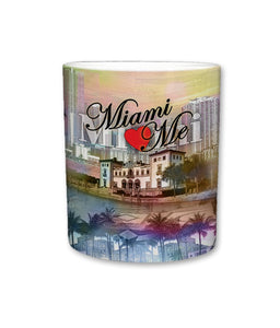 City of Miami Ceramic Mug | 11 Fl. Oz