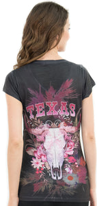 Texas Western Cow Skull T-Shirt