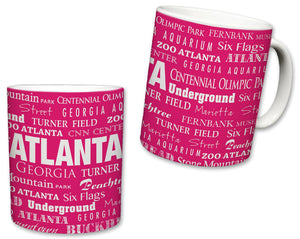 City of Atlanta Ceramic Mug | 11 Fl. Oz
