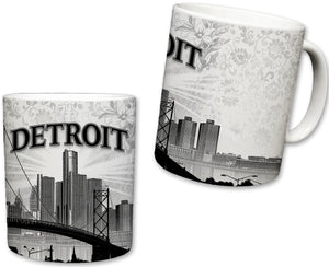 City of Detroit  Ceramic Mug | 11 Fl. Oz