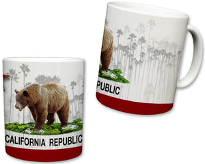 California Republic Ceramic Mug | 11 Fl. Oz