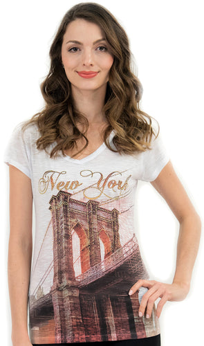 Brooklyn Bridge  NYC T Shirt