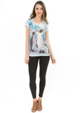 Penguin V Neck T Shirt