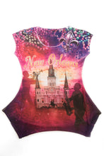Load image into Gallery viewer, New Orleans Festive Bling-Embellished Tunic - Sweet Gisele