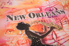 Load image into Gallery viewer, New Orleans Retro Jazz Bling-Embellished Tunic - Sweet Gisele