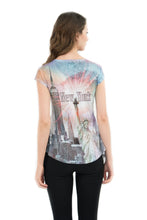 Load image into Gallery viewer, NYC Skyline Bling-Embellished Tunic - Sweet Gisele