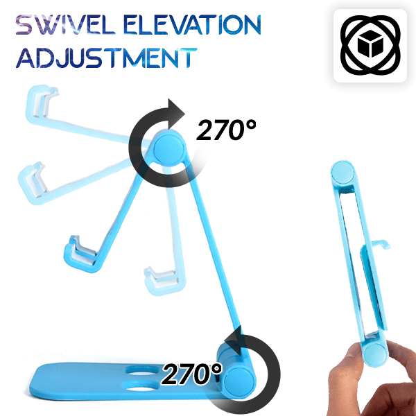 Foldable Swivel Mobile Stand