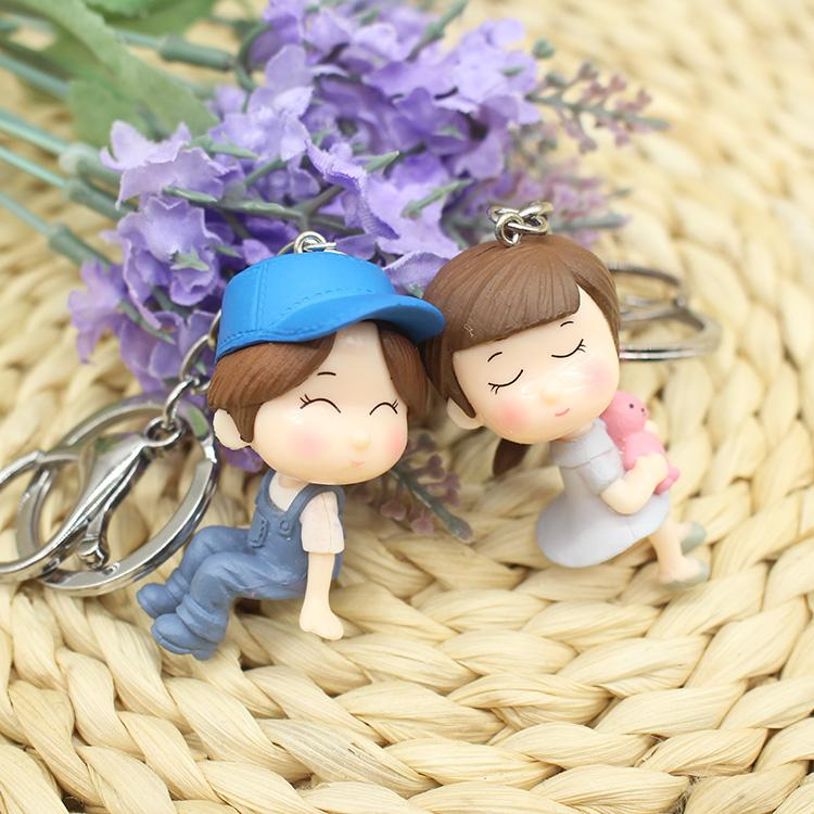 Couple Gift Keychain - Bunny Choice
