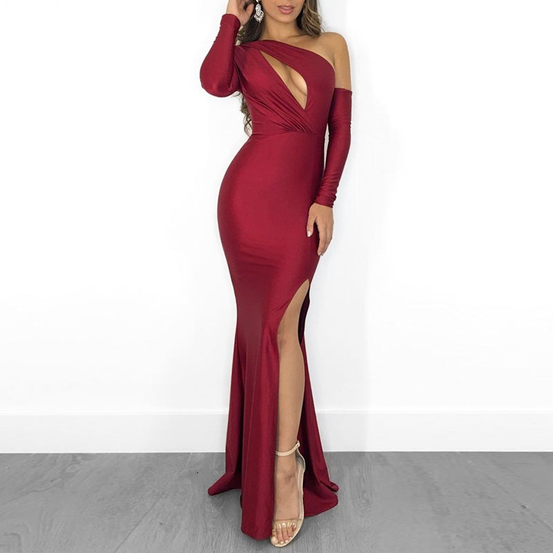Sexy Elegant Floor Length Party Dress Prom Dress