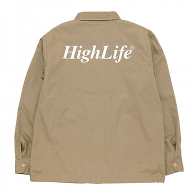 HighLife / Classic T/C Coach Jacket - Beige -