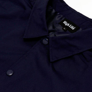 HighLife / Classic T/C Coach Jacket - Navy -