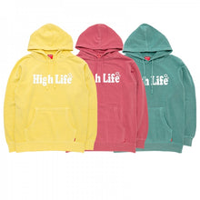 HighLife / Main Logo Pigment Dye Hoodie - Mint -