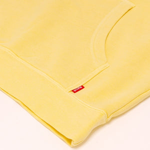 HighLife / Main Logo Pigment Dye Hoodie - Yellow -