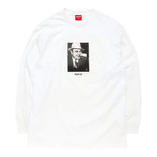 HighLife / Al Capone L/S Tee - White -