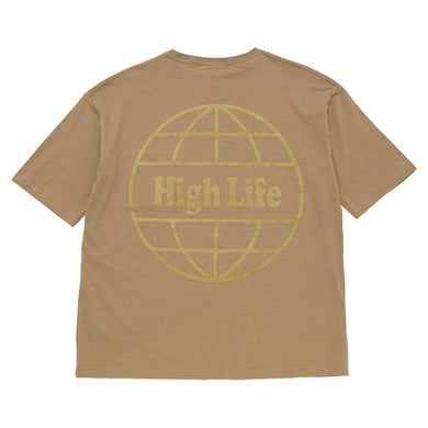 HighLife / International Pocket Tee - Khaki -