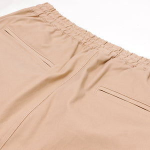 HighLife / SideLine Pocket Cotton Jogger Pants - Beige -
