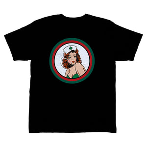 HighLife / Cannabis Nurse Tee - Black -