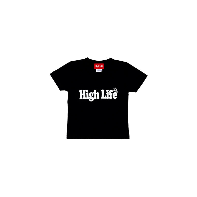 HighLife Kids / Main Logo Tee - Black -