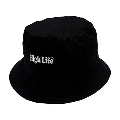 HighLife / Main Logo Bucket Hat - Black -