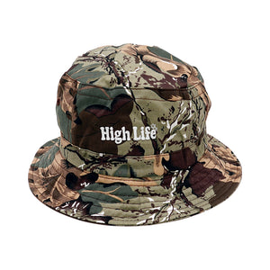 HighLife / Main Logo Bucket Hat - Camo -