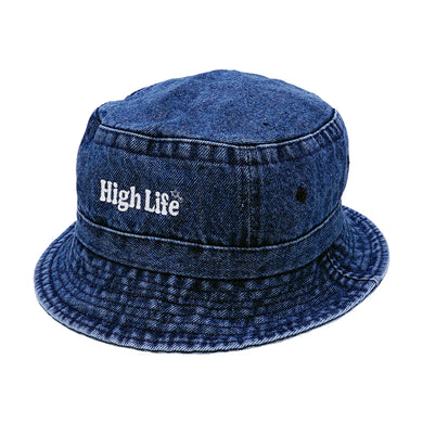 HighLife / Main Logo Bucket Hat - Denim -