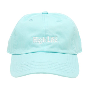 HighLife / Main Logo 6p CurveVisor Cap - Mint -