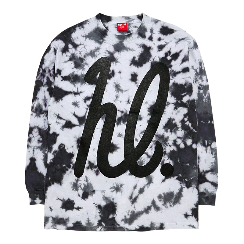 HighLife / hl TieDye L/S Tee - Monotone -