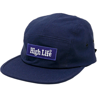HighLife / BoxLogo Camp Cap - Navy -