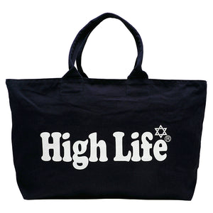 HighLife / Zip Tote Bag - Navy -