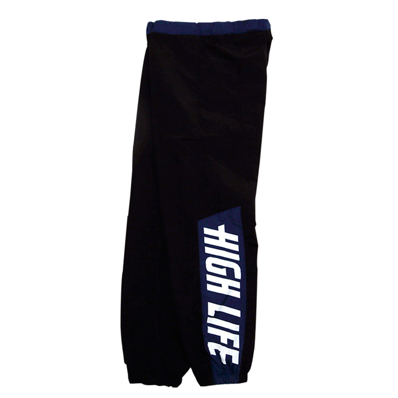 HighLife / Panelled Truck Pants - Black -