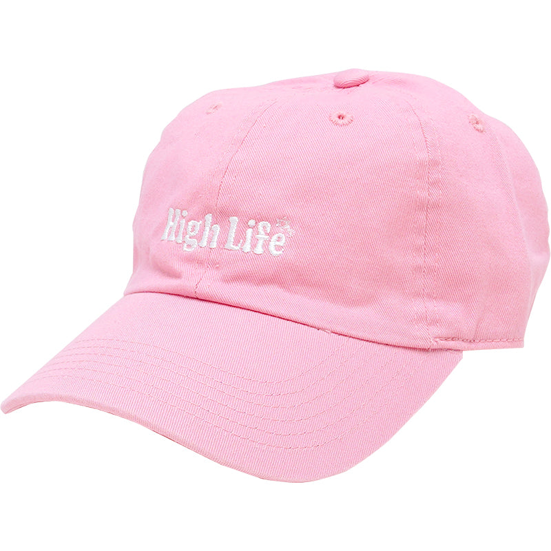 HighLife / Main Logo 6p CurveVisor Cap - Pink -