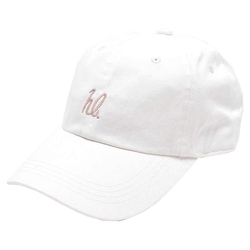 HighLife / hl 6P CurveVisor Cap - White×Beige -