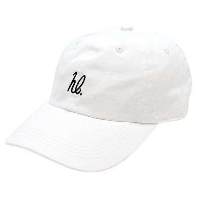 HighLife / hl 6P CurveVisor Cap - White×Black -