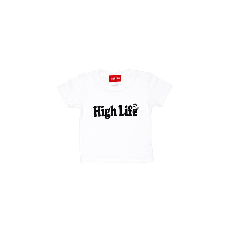 HighLife Kids / Main Logo Tee - White -