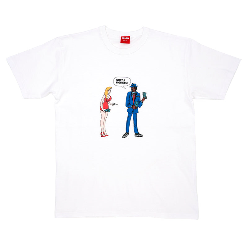 HighLife / What A HighLife Tee - White -