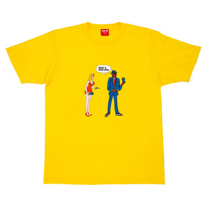 HighLife / What A HighLife Tee - Yellow -
