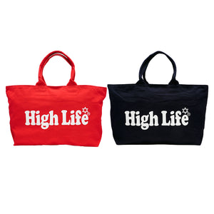 HighLife / Zip Tote Bag - Red -