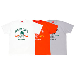 HighLife / Hot&Spicy Tee - White -