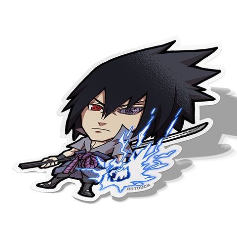 Sasuke Uchiha Sticker - BRAVE! Ink Studio