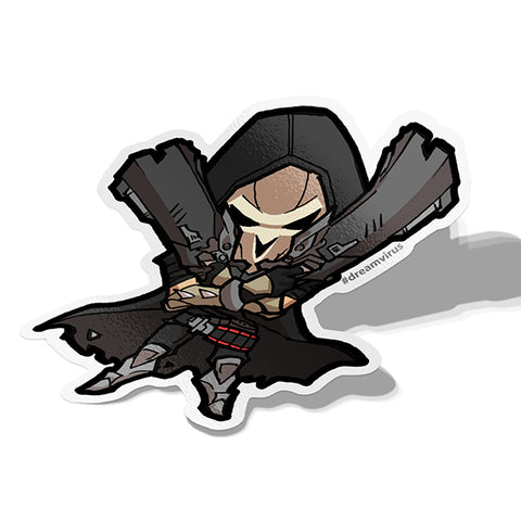 Reaper Sticker - BRAVE! Ink Studio