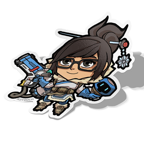 Mei, Vinyl Sticker, Overwatch, AJTouch