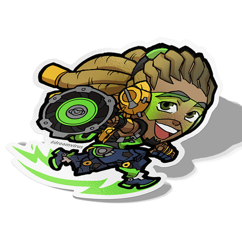Lucio Sticker - BRAVE! Ink Studio