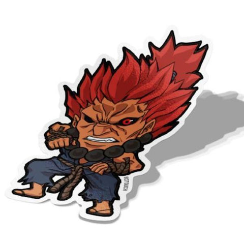 Akuma Sticker - BRAVE! Ink Studio