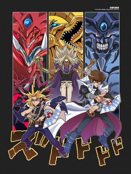 Battle City Finals-Chibi Anime Manga-Print-Yu-Gi-Oh!-AJTouch