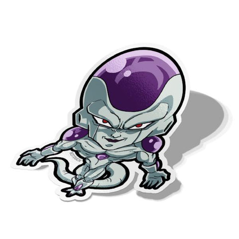 Perfect Freiza-Chibi Anime Manga-Vinyl Sticker-Dragonball-AJTouch