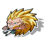 Gotenks, Vinyl Sticker, Dragonball, AJTouch