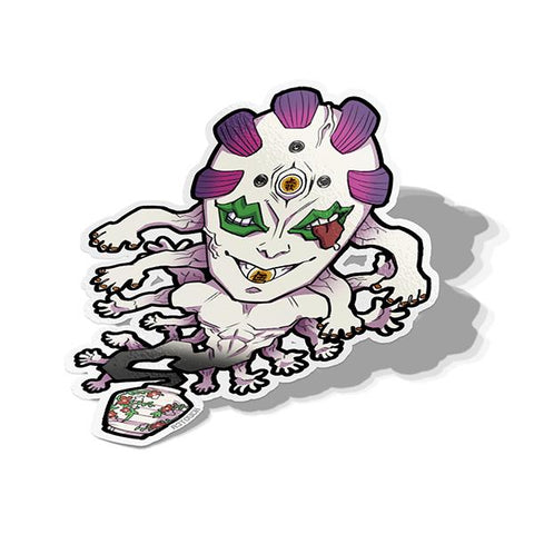 Gyokko (Upper Moon 5)-Chibi Anime Manga-Vinyl Sticker-Demon Slayer-AJTouch