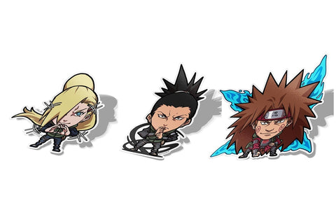 Team Asuma Naruto Set, Sticker Pack, Naruto, AJTouch