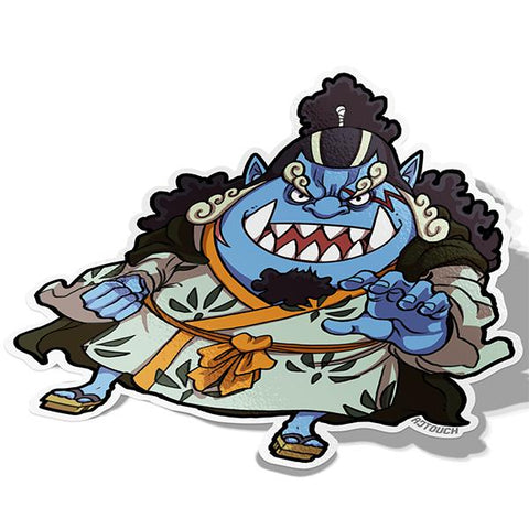 Jinbe-Chibi Anime Manga-Vinyl Sticker-One Piece-AJTouch